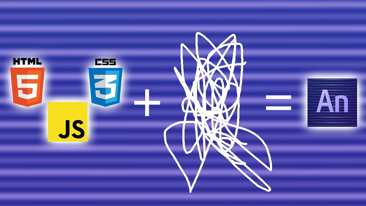 HTML, CSS, JS, some magic makes Adobe Edge Animate